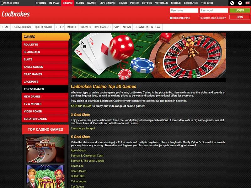 Ladbrokes Com Casino