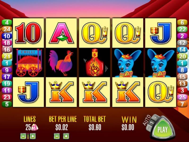 More Chilli Slot Machine