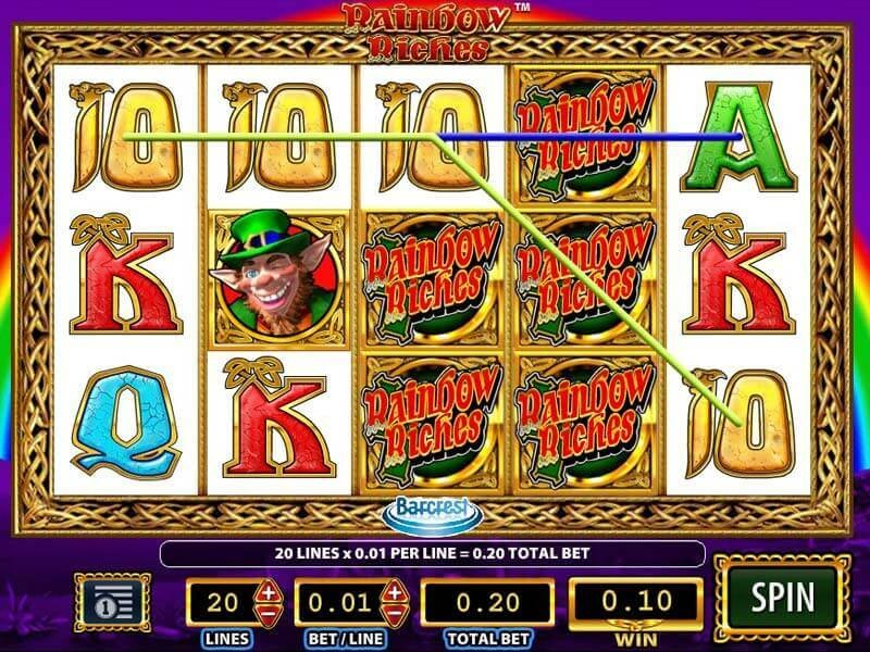 Rainbow Riches Free Spins Free Play