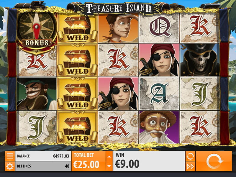 Treasure Island Slot Machines