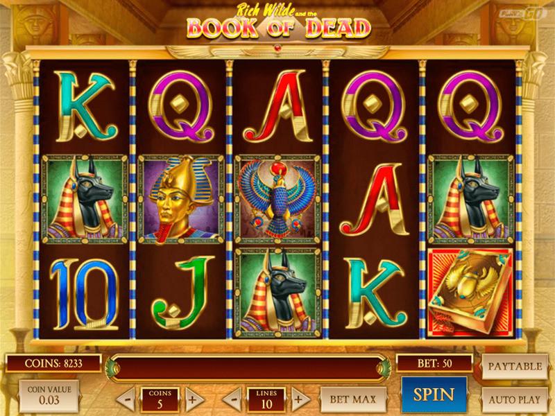 Book of Dead Slot Uk