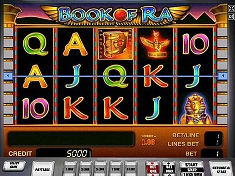 Book of Ra Online Uk