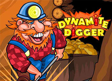 Dynamite Digger Slot Machine